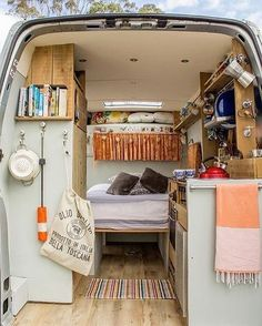 14 Cheap and Easy Camper Van Conversions for the Best Trips Vanchitecture - Wohnwagen Sprinter Camper, Vw T3 Camper, Diy Camper, Vw Bus, Van Home, Camper Van Conversion Diy, Campervan Interior, Volkswagen Bus Interior, Van Living