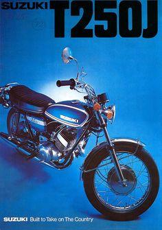 1972 Suzuki T250J Hustler