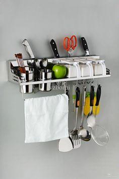 Cheap Kitchen Shelf - Best 304 Stainless Steel Kitchen Accessories Storage Rack Spice Online with $78.54/Piece   DHgate