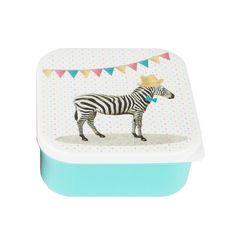 Koop online de leukste lunchboxen, brooddozen en snackdozen Kids with Flair - Kids with Flair Zebra Party, Sass & Belle, Aqua, Turquoise, Animal Party, Home Collections, Bath Mat, Back To School, Kids Rugs