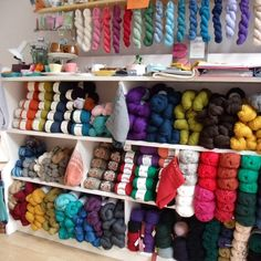 Ginger Twist Studio - a gorgeous yarn shop I discovered in Edinburgh