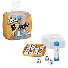 Boggle Board and Traditional Games for sale Boggle Board, Boggle Game, Dice Games, Word Games, Fun Games, Barrel Of Monkeys, Learning Games For Kids, Version Francaise, Teaching The Alphabet