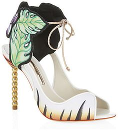 Sophia Webster Rousseau Jungle Satin Sandal