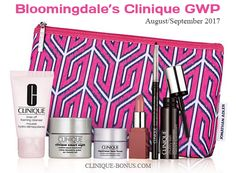 Clinique Bonus @ Bloomingdale's - available now online. Instores tomorrow. The promo ends on Sep 10, 2017. http://clinique-bonus.com/other-us-stores/