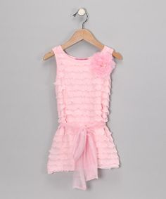 Take a look at this Pink Elida Dress - Toddler & Girls by Little Mass on #zulily today!