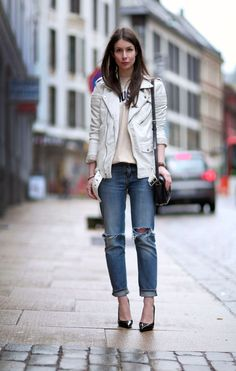 summer leather and denim