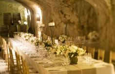 A simple ceremony in a unique natural setting, guarantees a relaxed atmosphere for all the guests. What better start for the newlyweds, in communion with nature, part of the very cycle of life, of a new beginning... http://www.theoperawedding.com/opera_wine_wedding.html