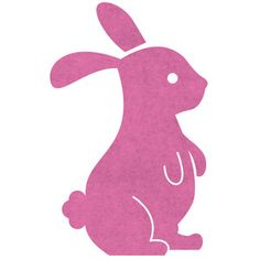 Rabbit Bloc Wall Sticker Pink now featured on Fab.