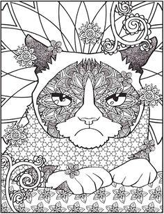 Dover Publications Creative Haven Grumpy Cat Hates Coloring Book