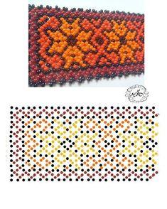 Beading Patterns Free, Beaded Jewelry Patterns, Peyote Patterns, Beading Tutorials, Bracelet Patterns, Seed Bead Projects, Bead Loom Bracelets, Bead Jewellery, Loom Beading