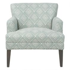 Dante Armchair -Aqua Rooms Home Decor, Home Living Room, Urban Barn, Living Room Inspiration, Home Accessories, Accent Chairs, Armchair, New Homes, House Design