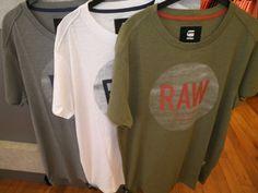 G-STAR t-shirt met print € 39.95 in 3 kleuren