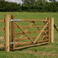 Timber and Fencing - Wooden Gates