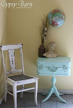 turquoise and trunks, design d cor, furniture furniture revivals, repurposing upcycling