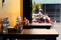 Noodle shop in Thailand by mutita.narkmuang on Creative Market