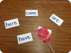Swat a sight word - Swat a phoneme - Swat a rhyming word - or just say the sound and Swat a letter. So Simple!