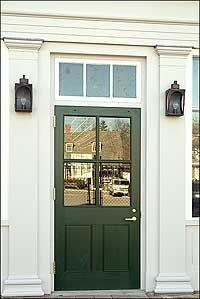 Gentil Transom Window Over Front Door