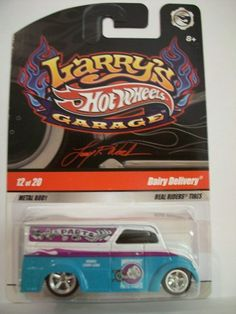 Hot Wheels 2008-12 of 20 DAIRY DELIVERY 1:64 Scale