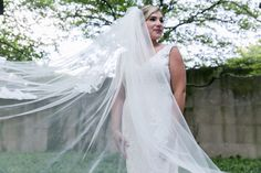Custom couture veils by Antonietta Cervantes for Veiled By ChaCha.