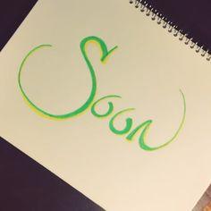 "Today's #onewordbyhandin365days: Song: ""#Soon"" Artist: @brookefraser"