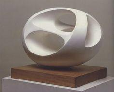 Barbara Hepworth-works in a 'masculine' medium, work is similar to artist Brancusi
