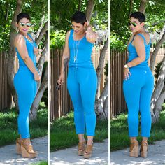 Step By Step VIDEO Tutorial on making this AMAZING Jumpsuit!LEVEL: Beginner/IntermediateSIZES: My tutorials are made to your measurements by drafting and creating the pattern (super easy) to always a get perfect fit. No guessing involved! TOOLS