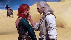 Witcher Art, Witcher 3 Wild Hunt, The Witcher 3, Triss Merigold, Geralt Of Rivia, Hail Storm, Dark Fantasy Art, World, Anime Meme