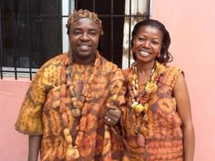 Traditional Wedding Specific Clothing and Adornments Of the Dida People in the west of Ivory Coast.