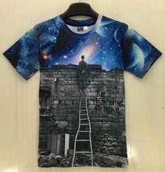 3D T-shirt casual Hip Hop tops Tee shirt