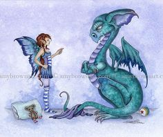 Fairy Art Artist Amy Brown: The Official Online Gallery. Fantasy Art, Faery Art, Dragons, and Magical Things Await. Fantasy Dragon, Dragon Art, Sea Dragon, Fantasy Kunst, Fantasy Art, Amy Brown Fairies, Male Fairy, Fairy Drawings, Geniale Tattoos