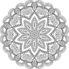 My Masterpiece Adult Coloring Books – Cool Coloring Books for Grown-Ups Geometric Coloring Pages, Pattern Coloring Pages, Adult Coloring Book Pages, Flower Coloring Pages, Mandala Coloring Pages, Free Coloring Pages, Coloring Books, Mandala Artwork, Mandala Drawing
