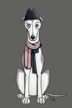 The First Doctor | Dogtor Who Is An Illustration Series Showing Each Doctor As A Dog And It's Too Much