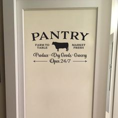 pantry Door decal-#pantry #Door #decal Please Click Link To Find More Reference,,, ENJOY!!