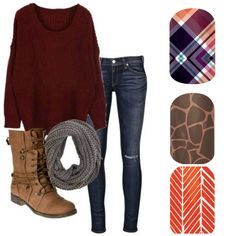 Fall in love with this season's Fall Fashion and Jamberry Nails! Take a look or place an order: http://www.mbouyett.jamberrynails.net http://www.facebook.com/MaryBoJams