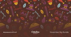 Check out November Big Bundle on Creative Market