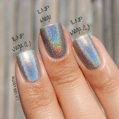 comparison of ILNP Mega & Mega (Linear) nail polish by faustfil