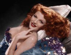 "Rita Hayworth ""I wasn't born a redhead, I was born to *be* a redhead."""