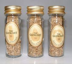 Glenlivet sampling phials of aroma