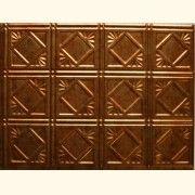 "Faux Tin Panel. T-4 Muted Gold ( pack of 10)  Size: 24""X18"" Price: 199.00 USD #TalissaDecor#backsplash#kitchen#reno#kitchenrenovation#decor#backsplashpanels"
