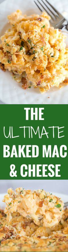 The Ultimate Baked Macaroni and Cheese