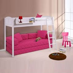 Bring your children's bedroom to life with our range of Bedroom Furniture. Shop bunk beds, children's beds, cabin beds & novelty beds for kids. Shop online now! Play Beds, Kids Bunk Beds, Loft Beds, Bedroom Sets, Girls Bedroom, Pine Bed Frame, High Sleeper Bed, Small Bedroom Storage, High Beds