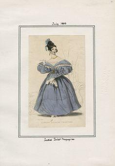 Ladies' Pocket Magazine July 1833 LAPL