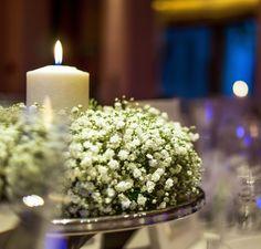 Thanos and Eleni - Dreams In Style  #wedding #weddings #reception #babysbreath #flowers #white #decoration #centerpieces #white #elegant #weddingplanner #candles #greekweddings #dreamsinstyle