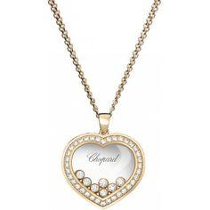 Chopard Happy Diamonds Pendentif Or Rose 18k ...