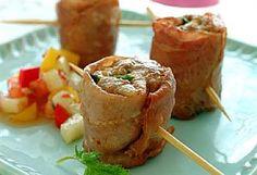 Tapas med kyllingkjøttdeig | Meny