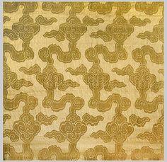 Chinese silk damask via Esther Fitzgerald Rare Textiles