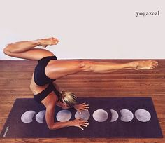 'Moon Phases' Mat available on yogazeal.com