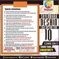 #Sayembara #SayembaraDesain #DesainLogo #Unsyiah #UnsyiahFair10 #BEMUnsyiah Sayembara Desain Logo Unsyiah Fair 10 2015  DEADLINE: 26 Juni 2015  http://infosayembara.com/info-lomba.php?judul=sayembara-desain-logo-unsyiah-fair-10-2015
