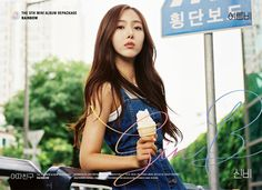 G-Friend release SinB and Umji's teaser images for 'Rainbow' Gfriend Album, Sinb Gfriend, Gfriend Sowon, South Korean Girls, Korean Girl Groups, Photoshoot Images, Fan Picture, Summer Rain, Entertainment