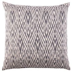 fog ikat pillow by John Robshaw 115.00